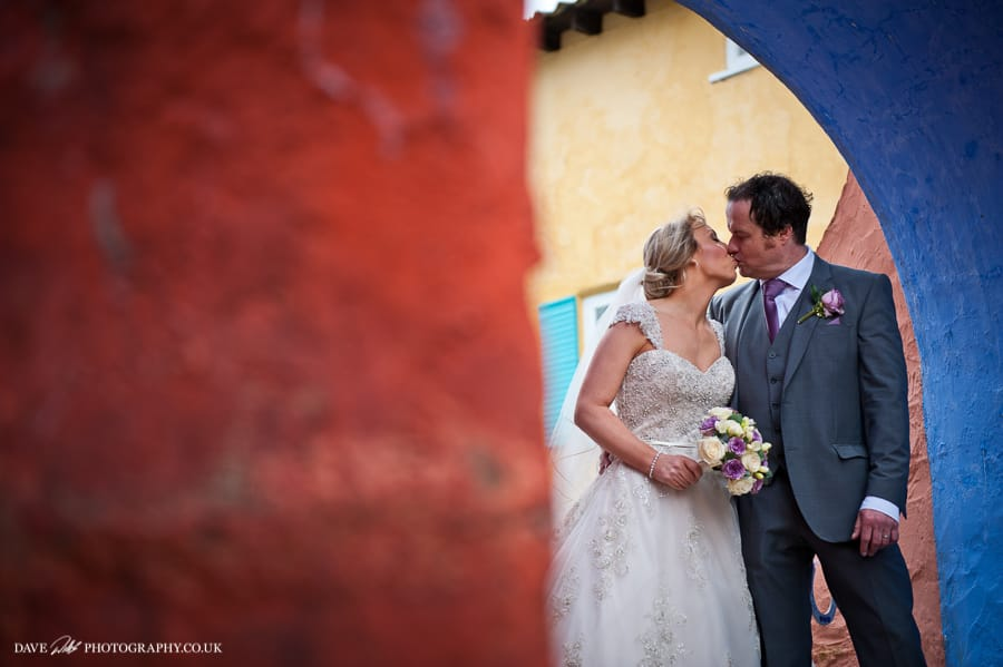 Portmeirion wedding